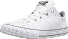 Converse Boys Chuck Taylor Madison Ox Fashion Sneaker Shoe, White
