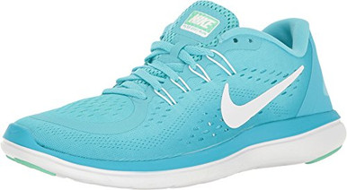 8fb734751231b ... Nike Flex RN 2017 Polarized Blue White Women s Running Shoes. Image 1