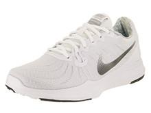 NIKE Women's In-Season 7 Training Shoes (White/Silver-M)