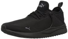 PUMA Men's Pacer Next Cage Sneaker, Black Black