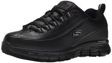 Skechers for Work Women's Sure Track Trickel Slip Resistant Black