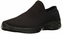 Skechers You by Women's You Slip-on Shoe,Black