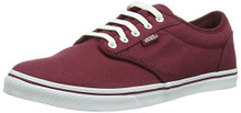 Vans Atwood Low Women Burgundy Skate Shoe