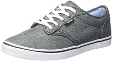 Vans Atwood Low Women  Gray Skate Shoe
