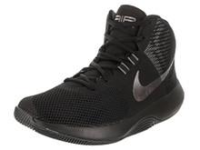 NIKE Men's Air Precision NBK Black/MTLC Dark Grey  Basketball Shoe