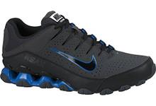4cfac9067e4ffd Nike Men's Reax Tr III Sl White/Metallic Silver/Black Training Shoe ...