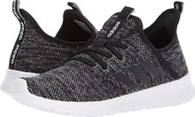 adidas Performance Women's Cloudfoam Pure Running Shoe, Black/Black/White