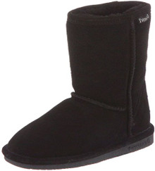 BEARPAW Emma 6.5 Inch Boot (Little Kid/Big Kid),Black II