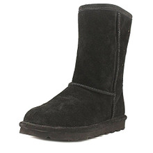 BEARPAW Women's Elle Tall Fashion Boot, Black