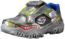 Skechers Kids Damager III Game Kicks 2 Sneaker (Little Kid),Gunmetal/Multi