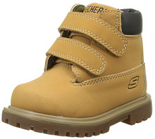 Skechers Toddlers Mecca - Brazenly Wheat Boot