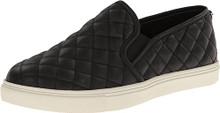 Steve Madden Women's Ecentrcq Slip-On Fashion Sneaker,Black