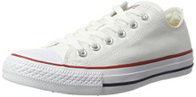 Converse All Star Ox - Unisex Basketball Shoes Optical White/White (8 mens/10 Womens)