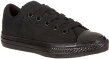 Converse Boy's Chuck Taylor All Star Street Ox Shoe, black, 6 M US Little Kid