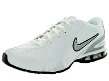 Nike Men's Reax Tr III Sl White/Metallic Silver/Black Training Shoe 8 Men US