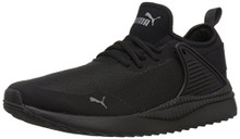 PUMA Men's Pacer Next Cage Sneaker, Black Black, 11.5 M US