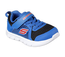Skecher Comfy Flex Hyper Stride Infant Toddler Sneaker Slip On Shoes