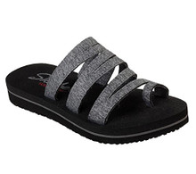 Skecher 31752 Women's Cali Zenflex - Camp Zen Sandal  (Gray)
