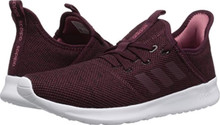 adidas Performance Women's Cloudfoam Pure Running Shoe, Maroon/Maroon/Trace Maroon
