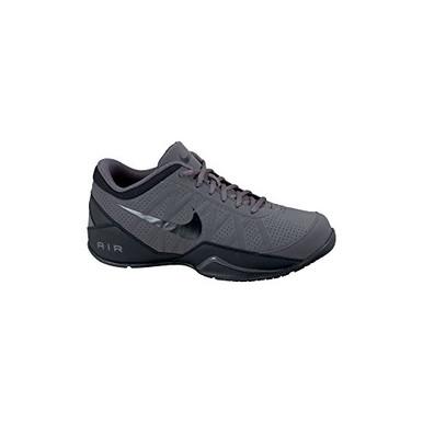 46a8bd3c35be63 Men's Nike Air Ring Leader Low Basketball Shoe Dark Grey/Black ...