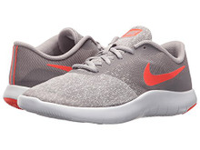 NIKE Flex Contact (GS) Atmosphere Grey/Total Crimson  Big Kid