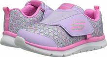 Skechers Kids Baby Girl's Skech-Lite-Heart Sprinters 82074N (Toddler/Little Kid) Lavender/Pink 12 M US Little Kid