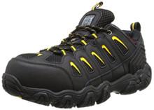 Skechers for Work Men's Blais Hiking Shoe, Black, 10.5 M US