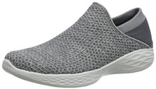 Skechers You by Women's You Slip-on Shoe,Charcoal,9 M US