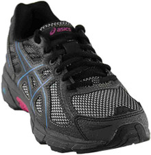 ASICS GEL-Venturer 6 Black/Island Blue/Pink Women's Running Shoes