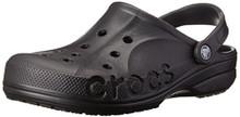 crocs Unisex Baya Clog, Black, 9 M (D) US Men / 11 M (B) US Women