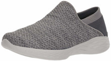Skechers You by Women's You Slip-on Shoe,Charcoal,6 M US