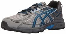 ASICS Men's Gel-Venture 6 Running Shoe, Aluminum/Black/Directoire Blue, 13 Medium US