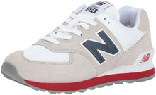 New Balance Men's 574S Sport Sneaker,Nimbus Cloud/Navy,10.5 D US