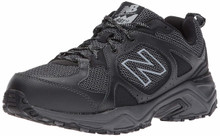New Balance Men's 481V3 Cushioning Trail Running Shoe, Black, 14 4E US