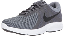 NIKE Men's Revolution 4 4E Running Shoe, Dark Grey/Black-Dark Grey-White, 10 Regular US