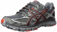 ASICS Men's Gel-Scram 3 Running Shoe, Dark Grey/Black/Red Clay, 10.5 Medium US