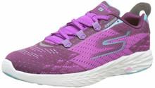 Skechers Womens GOrun 5 Running Shoe,Purple,US 8.5 M