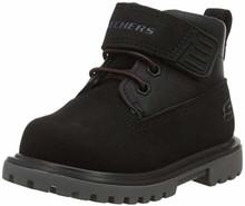 Skechers 93165N Boy's Mecca - Bolders Boots, Black