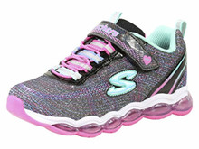 Skechers Kids Girls Double STRIDES-Duo Dash Sneaker, NVPK, Big