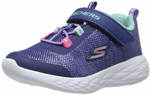 Skechers Kids Girls Dynamight Sneaker, PERI, Big