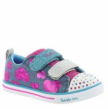 Skechers Kids Girls Go Run 600 Sneaker, WHT, Big Kid