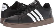 adidas Men's Cloudfoam Advantage Core Black/Footwear White/Gum