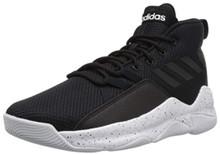 adidas Men's Streetfire Basketball Shoe, Black/White