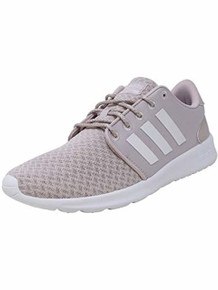 adidas Cloudfoam QT Racer Shoe Women's Running 8 Ice Purple-White-Light Granite