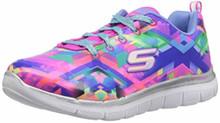 Skechers Kids Girls Skech Appeal 2.0 Sneaker, Black