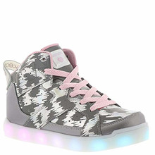 Skechers Kids Girl's E-Pro-Reflecti-Fab (Little Kid/Big Kid) Silver, Big Kid