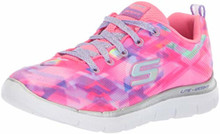 Skechers Kids Girls' Skech Appeal 2.0 Sneaker, Pkmt, Little Kid