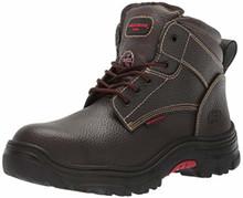 Skechers Work Men's Burgin-Tarlac Industrial Boot,Brown Embossed Leather