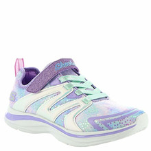 Skechers Double Dreams-Unicorn Wishes Girls' Toddler-Youth Sneaker Little Kid Lavender-Multi