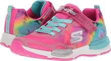 Skechers Kids Girl's Jumptech 81514L (Little Kid/Big Kid) Neon Pink/Multi Big Kid